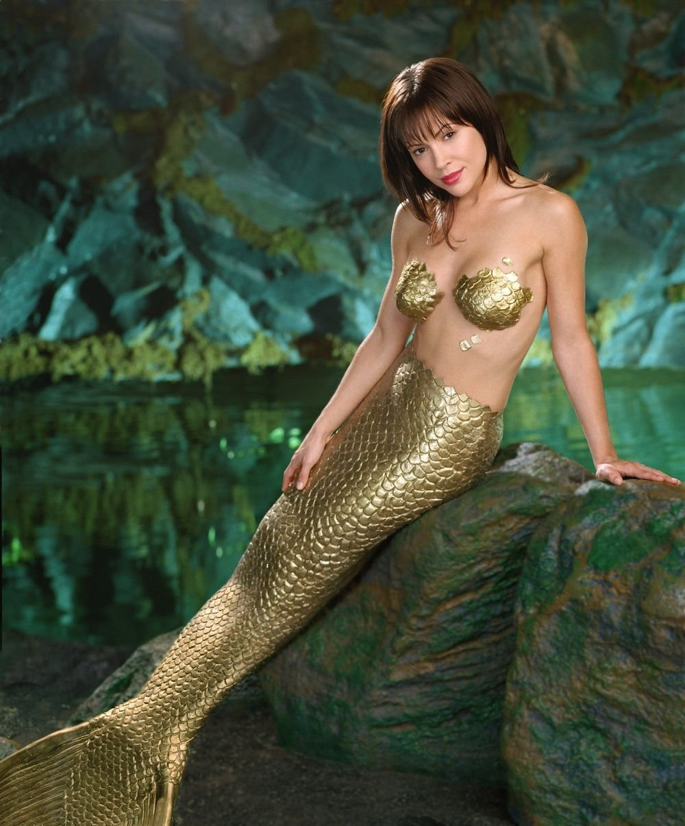 Alyssa Milano Charmed Mermaid